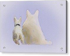 Friendship Acrylic Print by Ron Jones