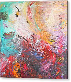 From Anger Into Light  Acrylic Print by Catherine Foster
