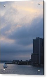 from Brooklyn height Acrylic Print by Nina Mirhabibi