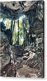 From The Cave Acrylic Print by MotHaiBaPhoto Prints