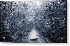 Frozen Time Acrylic Print by Svetlana Sewell