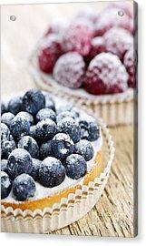 Fruit Tarts Acrylic Print by Elena Elisseeva