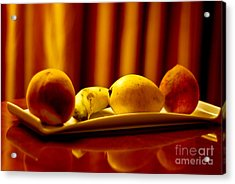 Fruits Of Patience Acrylic Print by Syed Aqueel