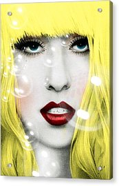 Gaga Acrylic Print by Mark Ashkenazi