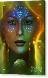 Gaia 2 Acrylic Print by Shadowlea Is