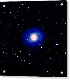 Galaxy Ngc 1398 Acrylic Print by Celestial Image Co.