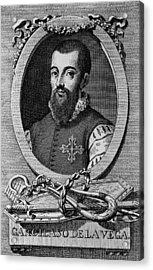Garcilaso De La Vega 1503-1536 Spanish Acrylic Print by Everett