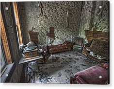 Garnet Ghost Town Hotel Parlor - Montana Acrylic Print by Daniel Hagerman