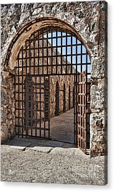 Gateway To The Unknown Acrylic Print by Sandra Bronstein