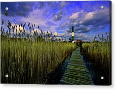 Gathering Clouds Acrylic Print by Rick Berk
