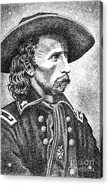General Custer Acrylic Print by Gordon Punt