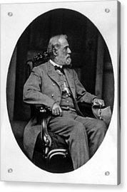 General Robert E. Lee 1807-1870 Acrylic Print by Everett