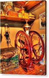 General Store Coffee Mill - Nostalgia - Vintage Acrylic Print by Lee Dos Santos
