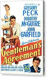 Gentlemans Agreement, Dorothy Mcguire Acrylic Print by Everett
