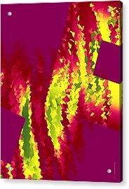 Geometric Art Designs Acrylic Print by Mario Perez