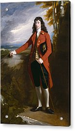 George Boone Roupell Acrylic Print by John Singleton Copley