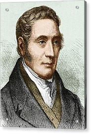 George Stephenson (1781-1848) Acrylic Print by Sheila Terry
