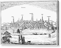 Germany: L�beck, 1616 Acrylic Print by Granger