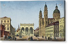 Germany: Munich, C1845 Acrylic Print by Granger