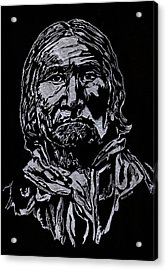 Geronimo Acrylic Print by Jim Ross