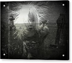 Ghost Child Acrylic Print by Shirley Sirois
