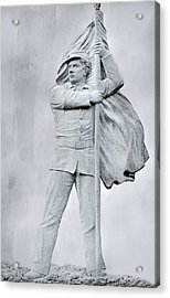 Ghost Of Battles Past Acrylic Print by Randy Steele