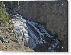 Gibbon Falls 9472 Acrylic Print by Michael Peychich