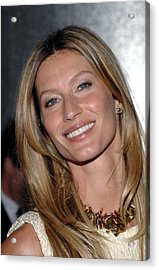 Gisele Bundchen In Attendance For The Acrylic Print by Everett
