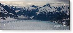 Glacial Panorama Acrylic Print by Mike Reid