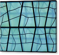 Mosaic Acrylic Print featuring the photograph Glass And Shadows by Roberto Alamino