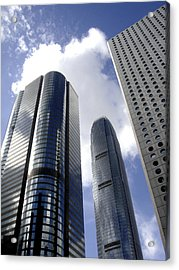 Buildings Acrylic Print featuring the photograph Glass Forest by Roberto Alamino