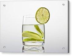 Glass With Lemonade Acrylic Print by Joana Kruse