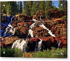 Glen Alpine Falls Acrylic Print by Scott McGuire
