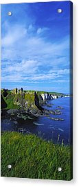 Glenarriff Falls, The Antim Glens, Co Acrylic Print by The Irish Image Collection