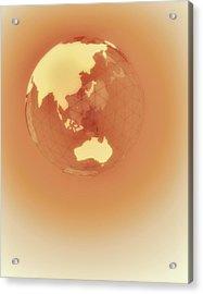Globe Of Eastern Hemisphere Acrylic Print by Jason Reed