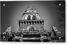 Gloucester City Hall Acrylic Print by Matthew Green