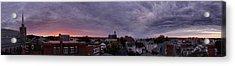 Gloucester Sunrise Panorama Acrylic Print by Matthew Green