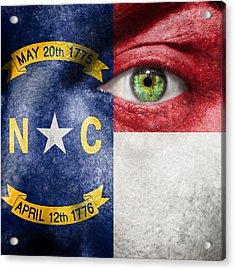 Go North Carolina Acrylic Print by Semmick Photo