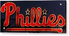 Go Phils Acrylic Print by Snapshot  Studio