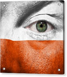 Go Poland Acrylic Print by Semmick Photo