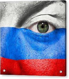 Go Russia Acrylic Print by Semmick Photo