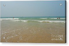 Goa Beach Acrylic Print by Conceptioner Sunny