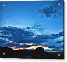 Goblin Valley Sunset Acrylic Print by Gregory Scott