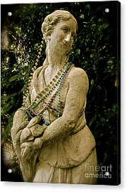 Goddess Of The Bayou Acrylic Print by Laura Brightwood