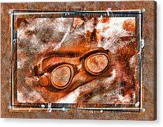 Goggles Acrylic Print by Mauro Celotti