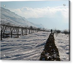 Going To Nowhere  Acrylic Print by Issam Hajjar