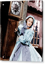 Gone With The Wind, Olivia De Acrylic Print by Everett