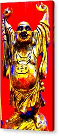 Good Luck At The Gold Coast Acrylic Print by Randall Weidner