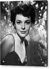 Gorilla At Large, Anne Bancroft, 1954 Acrylic Print by Everett