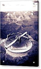 Grand Canyon - Sight Tube Acrylic Print by Scott Sawyer